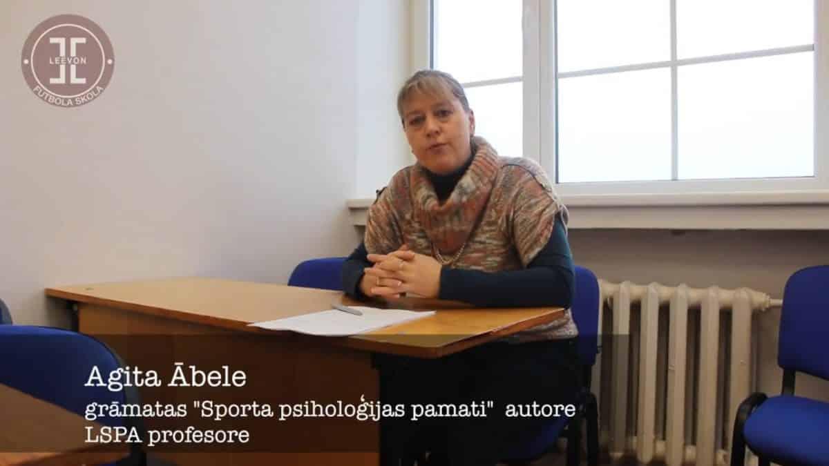 Sporta psiholoģija – A. Ābele
