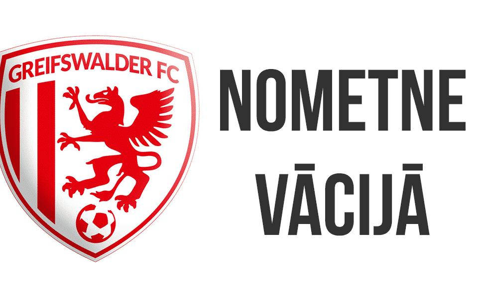 FS LEEVON nometne Vācijā Greifswalder FC