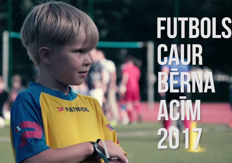 FS LEEVON un LFF atvērtais treninš Futbols caur bērna acīm 2017