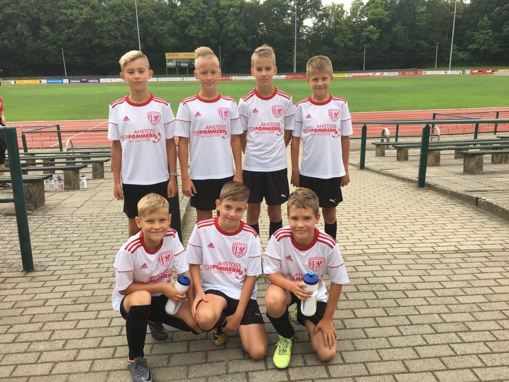 Bērnu futbola skola LEEVON viesojas Vācijā