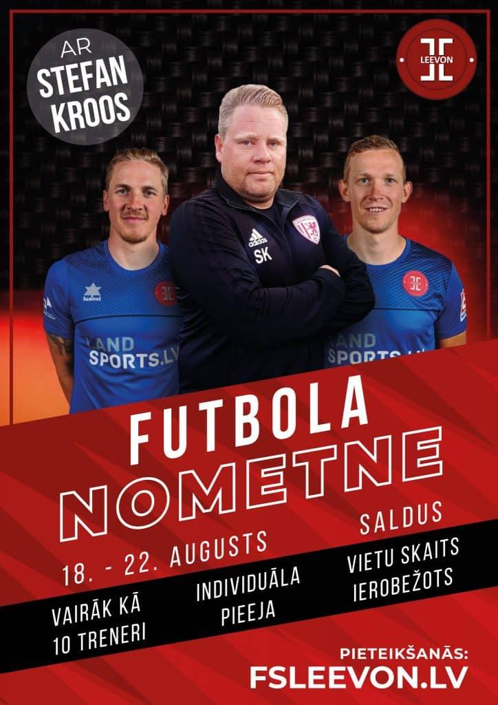 Futbola Nometne ar Stefan Kroos Greifswalder FC